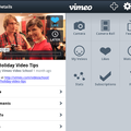 Vimeo app for Android and Windows Phone 7 streams in