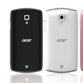 Acer Liquid Glow Ice Cream Sandwich smartphone set for MWC