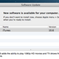 iTunes 10.6 update released
