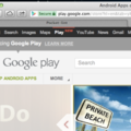 Google Play added to Google Nav bar