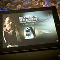 APP OF THE DAY: Sherlock Holmes: A Game of Shadows Movie App review (iPad)