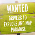 Wanted: Drivers to map paradise, TomTom to pick up the tab