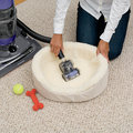Febreze vacuum leaves your carpet clean and odour free