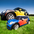BMW Mini MINI radio-controlled car to ferry javelins, discuses, hammers and shots at London 2012