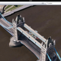 Apple Maps: London Easter eggs show the London Halo, Olympics and Samsung advert