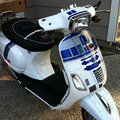 We are the mods, we are the mods... scooter 'modded' Star Wars style