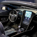 QNX car platform 2.0 concept in a Bentley Continental GTC pictures and hands-on
