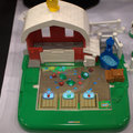 Fisher-Price Little People Apptivity case and Barnyard pictures and hands-on
