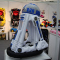 Inflatable R2-D2 lets your ride your favourite droid