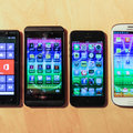 BlackBerry Z10 compared to SGS3, iPhone 5, Lumia 820 (photo)
