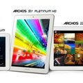 Archos unveils three quad-core Platinum tablets: 8-inch, 9.7-inch, 11.6-inch