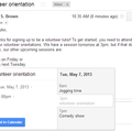 Google now allows you to add events to Google Calendar from Gmail