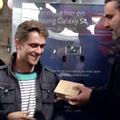 Samsung and Swisscom host hour-long S4 staring contest in Zurich