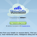 Website of the day: Tweetails