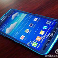 Samsung Galaxy S4 Active photographed in Arctic blue