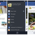 Facebook 5.0 for Windows Phone 8 releases with overhauled UI and navigation