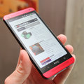 HTC One Glamour Red pictures and hands-on