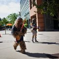 Star Wars lightsaber relay takes in the Googleplex on way to Comic-Con