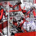 Sneak peek at Tesla Motors robot factory reveals futuristic Model S production lines