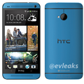 Blue HTC One leaks just in time for the Moto X's plentiful colours