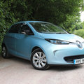Renault Zoe pictures and hands-on