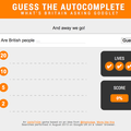 Website of the day: Guess the Autocomplete