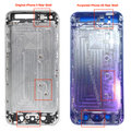 iPhone 5S and iPhone 5C rear casings get compared to iPhone 5