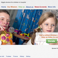 Website of the day: Theodora Children's Trust