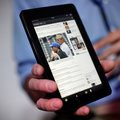 Amazon redesigns Kindle Fire HD and shows it off in public