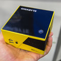 Gigabyte Brix pocket gaming PC with Intel Iris Pro graphics, looks slick in yellow