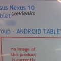 New Google Nexus 10 pops up in new leak, still no word on release