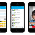 Skype apps for iPhone and iPad redesigned with iOS 7 in mind
