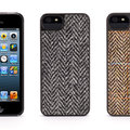 How posh: Griffin offers genuine Harris Tweed Wallet and Harris Tweed Case for iPhone 5/5S