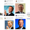 Don't like Google's new ads? Change your photo to Eric Schmidt's mug in protest