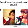 Website of the day: Tweet Your Avi