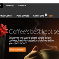 Website of the day: Kopi