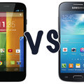 Motorola Moto G vs Samsung Galaxy S4 Mini: What's the difference?