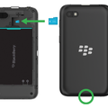 Purported BlackBerry C-series handset leaks, packing what looks to be a budget punch