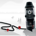 Lavazza's A Modo Mio Espressego portable coffee maker brews Italian espresso using a car's lighter socket