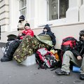 London PS4 queue starts, as gamers brace the cold to be first