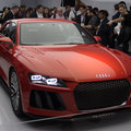 Audi unveils stylish laser headlights at CES, will come to production cars