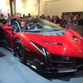Lamborghini Veneno Roadster turns up at CES with $50k Monster speaker makeover