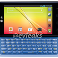 LG Optimus F3Q press shot and specs leaked, revealing slide-out keyboard and Jelly Bean OS