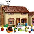 The Simpsons House Lego now available to buy, Homer and the gang for £179