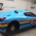Deadmau5 pimps his £200k Ferrari 458 Spider to be Nyan Cat viral homage
