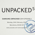 Samsung schedules Unpacked 5 event for 24 February, Galaxy S5 unveil hinted
