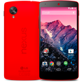 Red Nexus 5 now available on Google Play, just in time for Valentine's Day
