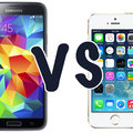 Samsung Galaxy S5 vs iPhone 5S: What's the difference?