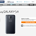 Samsung Galaxy S5 pre-registration already topped Galaxy S4 figures, says Carphone Warehouse