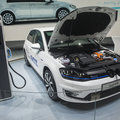Volkswagen Golf GTE pictures and eyes-on: Mean meets green